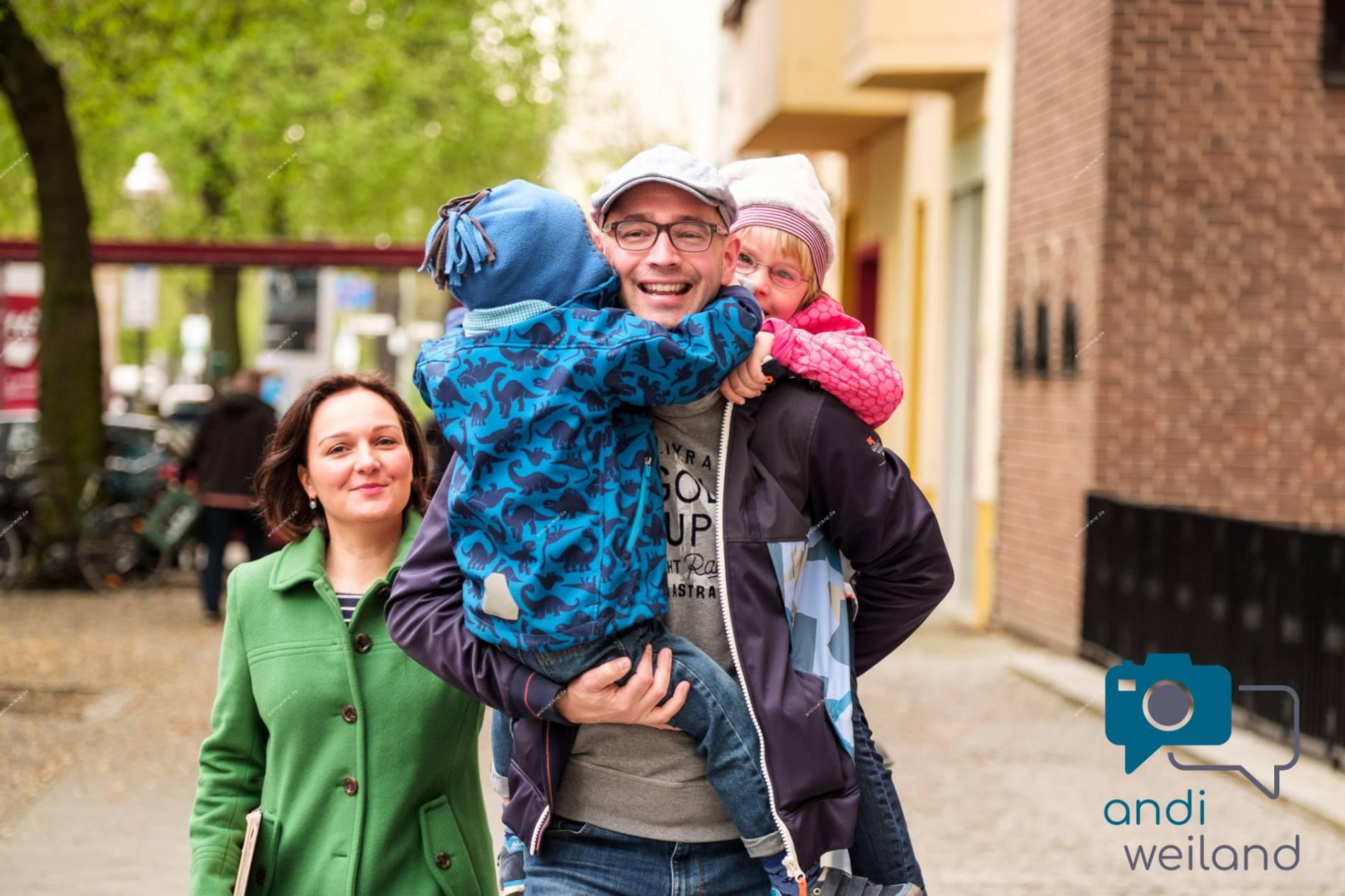 Andi Weiland Familie und Behinderung